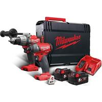 MILWAUKEE COMBO POWERPACK M18 FPP2A2-502X