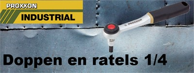 Doppen en ratels 1/4""