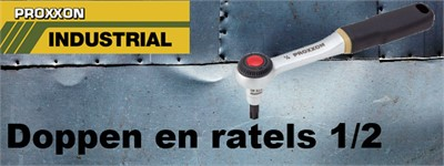 Doppen en ratels 1/2""